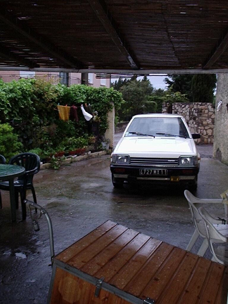 sete frankreich regen