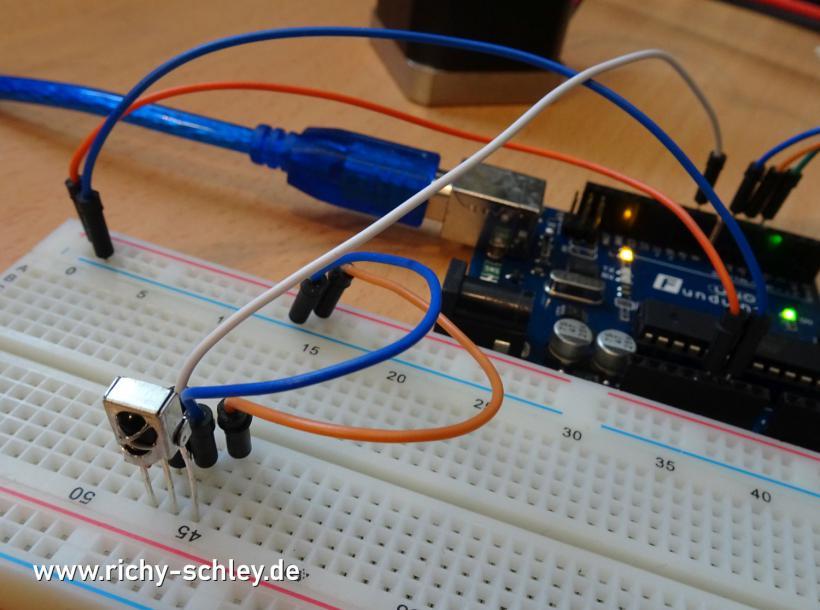 arduino infrarot sensor