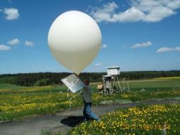wetterballon wettersonde