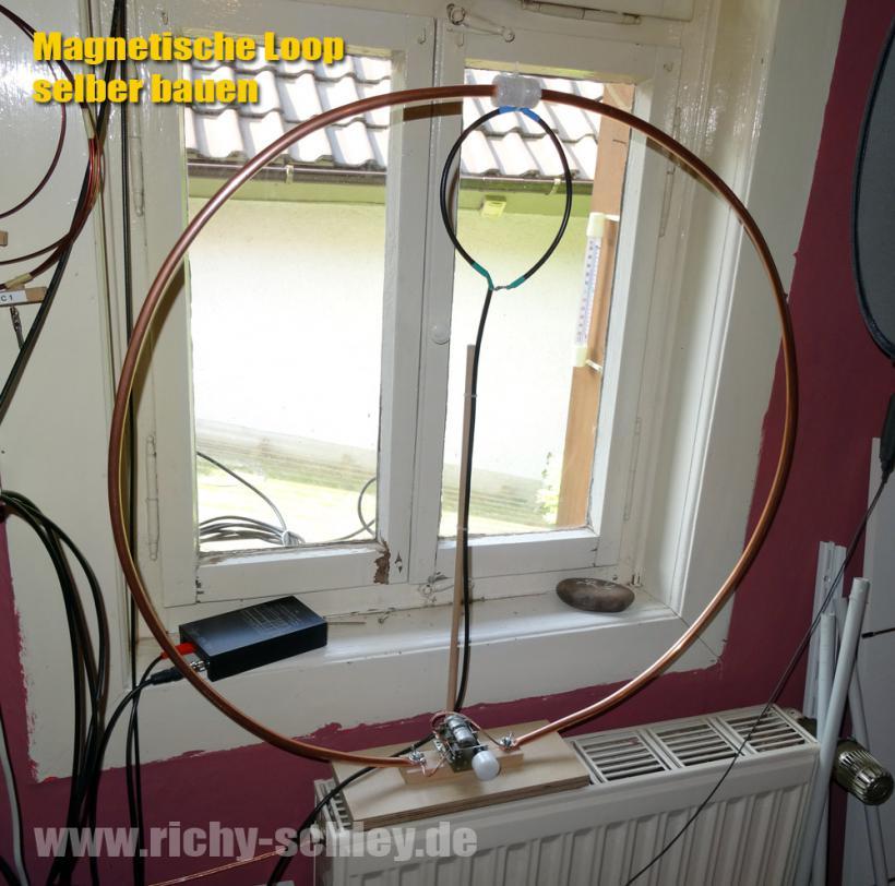magnetische loop antenne kurzwelle