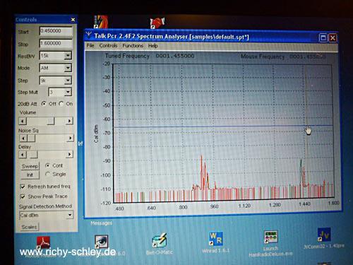 talk pcr spectrum analyser
