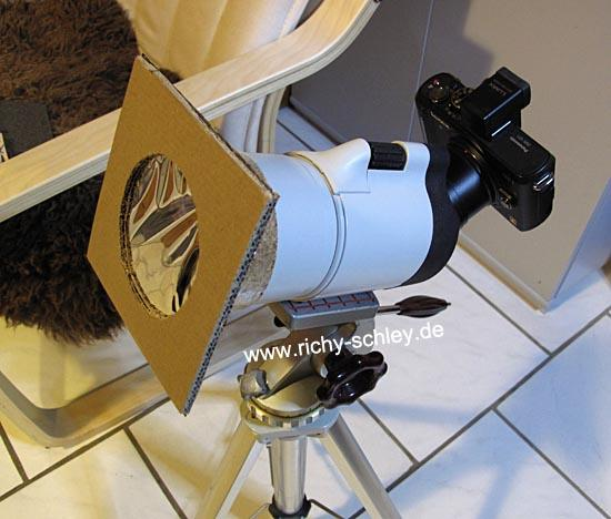 kamera teleskop sonnenfilter