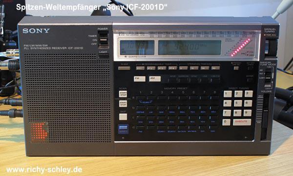 sony icf 2001d