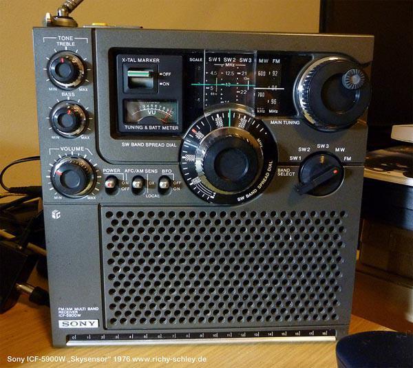 sony icf 5900w