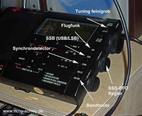 tecsun pl-660 funktionen