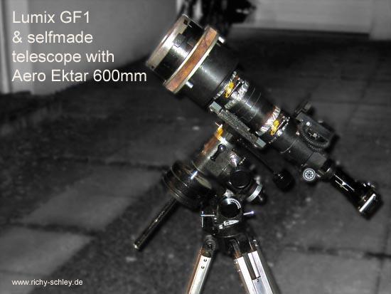 eigenbau teleskop
